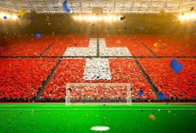 Schweizer Fussball Euphorie